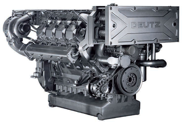Deutz shortblock
