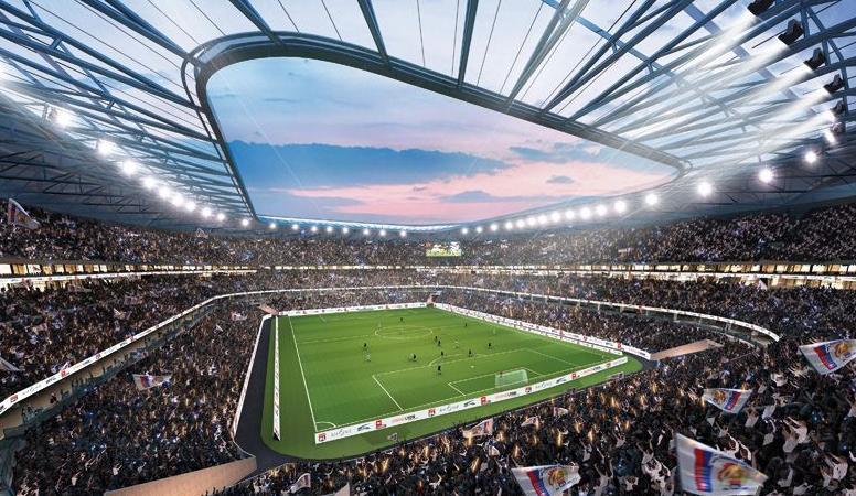 Stade Lyon équipé groupes électrogènes Cummins